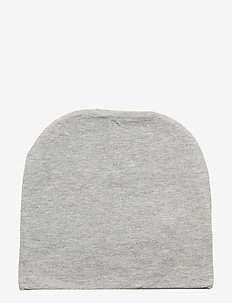 BEANIE JERSEY HAT - hoed - light grey melange