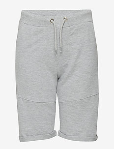 LARS SWEATSHORTS - LIGHT GREY MELANGE