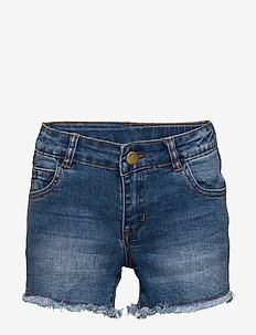 AGNES DENIM SHORTS - LIGHT BLUE DENIM