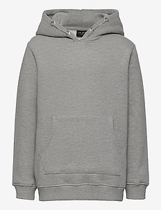 THE NEW ECO HOODIE - hoodies - light grey melange