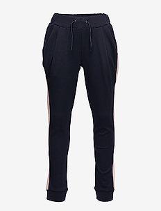 MAUI TRACK PANTS - BLACK IRIS