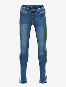 MAZY GLEE PANTS - BLUE DENIM
