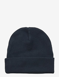 KNITTED HAT - BLACK IRIS