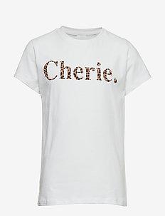 CHERIE S_S TEE - LEOPARD