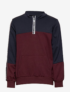 NATE ZIP SWEATSHIRT - PORT ROYALE