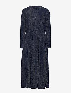 NELLY L_S DRESS - NAVY BLAZER