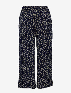 OLYAH WIDE PANTS - black iris
