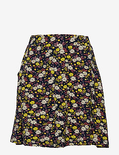 ORCHID SKIRT - BLACK IRIS