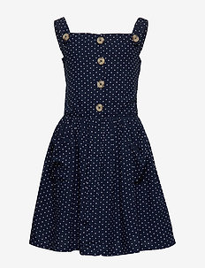 ORABELLA S_S DRESS - BLACK IRIS