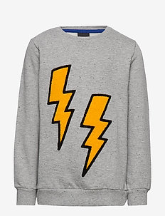 OREO SWEATSHIRT - LIGHT GREY MELANGE