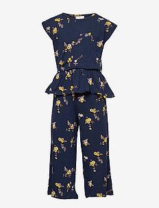 PAULA JUMPSUIT - jumpsuits - navy blazer