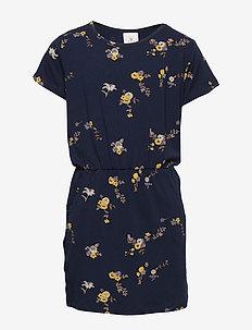 PAULA S_S DRESS - navy blazer