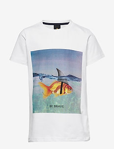PACEN S_S TEE - BRIGHT WHITE
