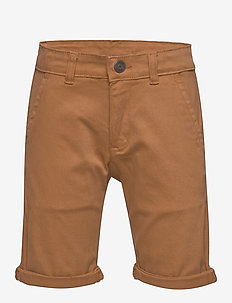 GUSTAVO CHINO SHORTS GLAZED GINGER - shortsit - glazed ginger