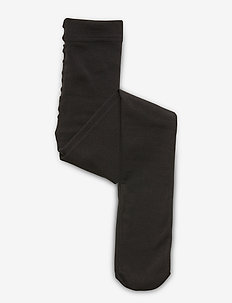 FLEECE TIGHTS - strømpebukser - black