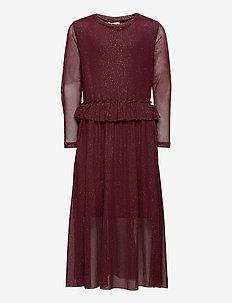 ODESSA L_S DRESS COL SASSAFRAS - kjoler - sassafras