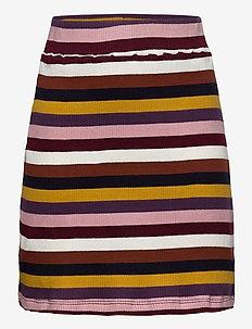 RISA RIB SKIRT - skirts - sassafras