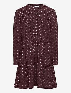 RILEY L_S DRESS - kleider - sassafras