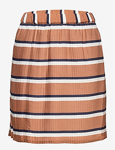 RACHEL PLEAT SKIRT - spódnice - mocha bisque