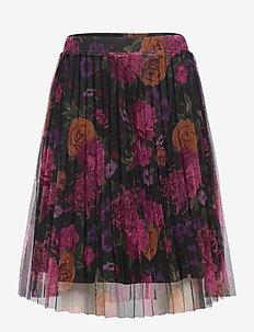SEVILAY MESH SKIRT - skirts - navy blazer