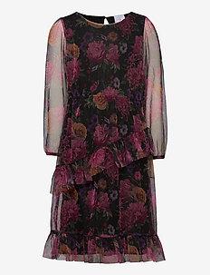 SEVILAY MESH DRESS - dresses - navy blazer