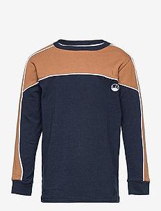 TITAN L_S TEE - sweatshirts - navy blazer
