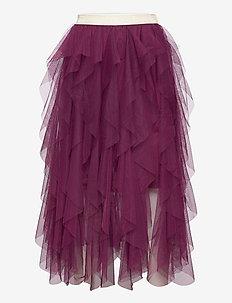 SILVIA TYLLE SKIRT - skirts - potent purple