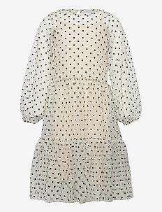 TWIST DRESS - kleider - white swan