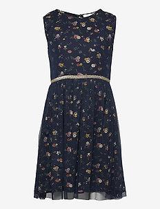 ANNA THELMA DRESS - kleider - floral aop
