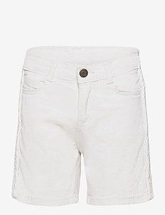 PHILIPPA SHORTS - shorts - cloud dancer