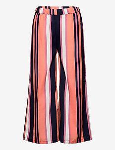 TESS WIDE PANTS - hosen - stripe