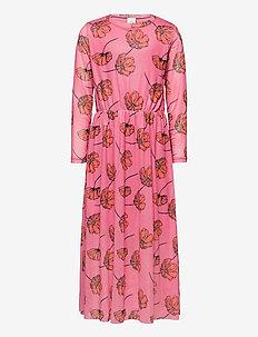 TESSIE MESH MAXI DRESS - kleider - heather rose
