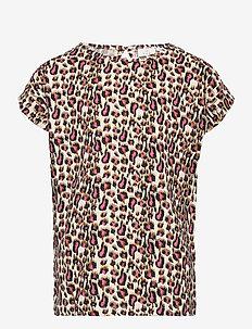 TRINITY S_S TEE - korte mouwen - leopard