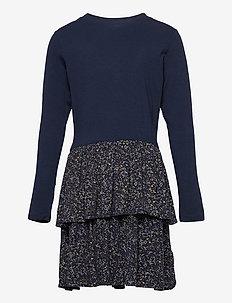 TITUANNA MELROSE L_S DRESS - jurken - navy blazer