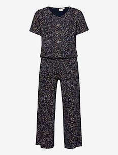 TITUANNA S_S JUMPSUIT - jumpsuits - navy blazer
