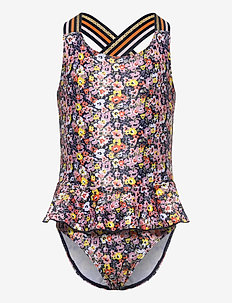 TIKI SWIMSUIT UV50+ - badeanzüge - floral aop