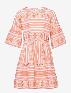 OCIE L_S DRESS - kleider - nectarine