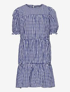UNION S_S DRESS - sukienki - navy blazer