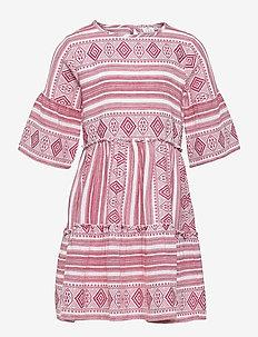 OCIE L_S DRESS - jurken - mineral red
