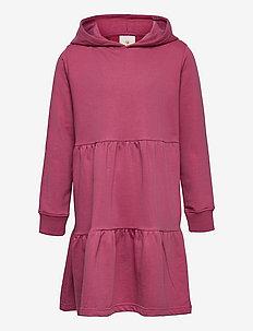 EXIT HOODIE SWEAT DRESS - kjoler & skjørt - heather rose