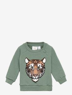 TNAIDEN SWEATSHIRT - sweatshirts - dark forest
