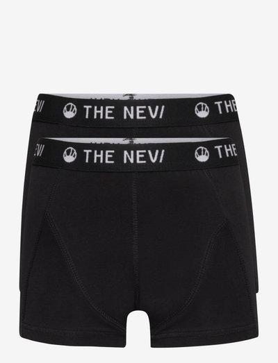 2-PACK ORGANIC BOXERS NOOS - night & underwear - black/black