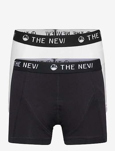 2-PACK ORGANIC BOXERS NOOS - night & underwear - black/white