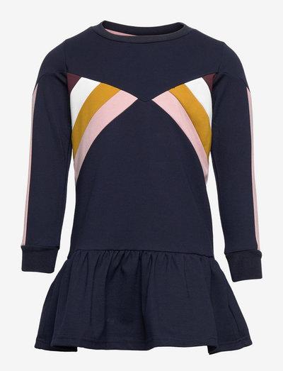 TNVALIS L_S DRESS - kjoler - navy blazer