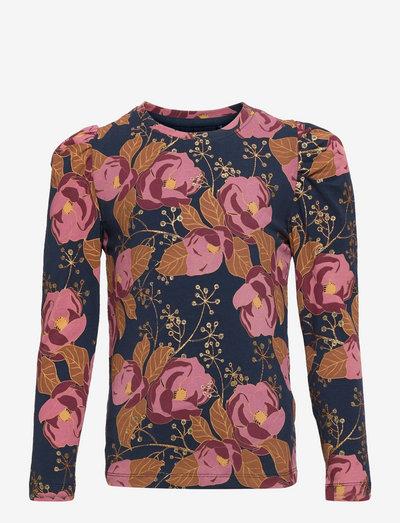 TNVALENCIA L_S TEE - t-shirts - big flower