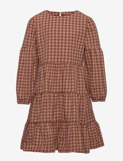 TNVALYAH L_S DRESS - kjoler & nederdele - ash rose