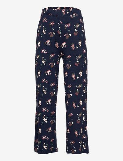 TNVIVIENNE WIDE PANTS - trousers - navy blazer