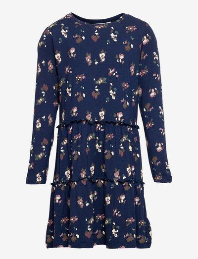 TNVIVIENNE L_S DRESS - dresses - navy blazer