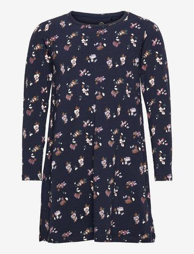 TNVANNA L_S NIGHT DRESS - pyjamas - navy blazer