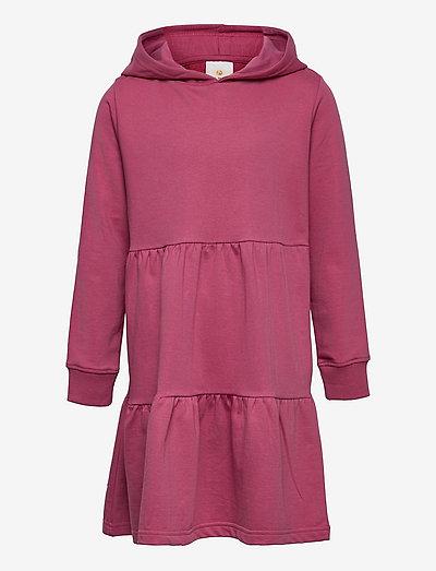 EXIT HOODIE SWEAT DRESS - jurken & rokjes - heather rose